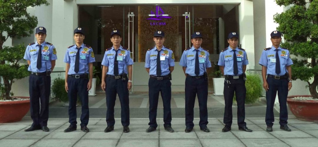 Security service for factories, warehouses